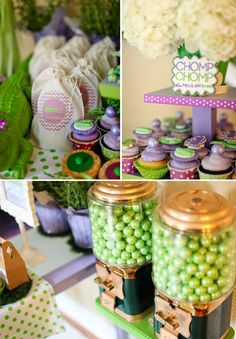 Love the colors of this crocodile Girly party.  Future Abby party?