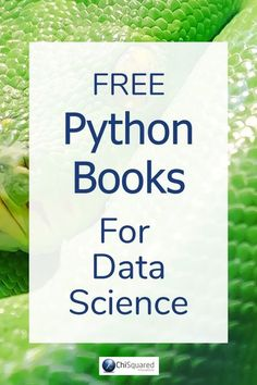 Essential Python Books for Data Science programming Free Essential Python Books for Aspiring Data Scientists Data Science, Science Des Données, Science Books, Environmental Science, Life Science, Computer Coding, Computer Technology, Computer Programming, Computer Science
