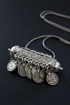 Rajasthani replica of a focal pendant necklace dangling