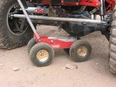 Off Road floor jack build - : and Off-Road Forum Car Trailer, Utility Trailer, Trailers, Vw T3 Doka, Slide In Camper, Jeep Mods, Jeep Xj, Homemade Tools, Rubber Tires