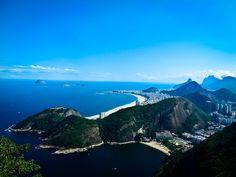 The beautiful view in Rio De Janeiro, Brazil