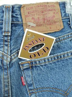 9feb5fed49 Items similar to Vintage 501 Levi's Jeans Instant Old 1989 Deadstock Made  in the USA Label Size 9 on Etsy