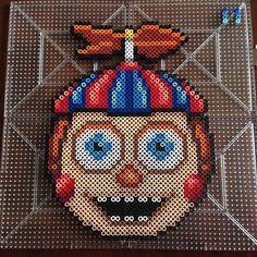 Balloon Boy – Five Nights at Freddy s perler beads by honey.beads -  Original design 386d3f5d79d6b