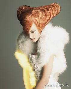 Chie Sato: Avant Garde Hairdresser of the Year 2011 Finalist  #photography #fashion #hair
