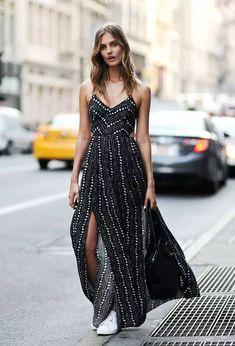 Ecote Strappy Back Safari Maxi Dress - Urban Outfitters