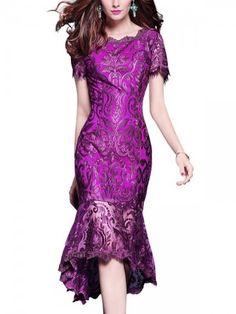 Burgundy Lace Lined Swing Mini Dress Evening Dresses Online, Midi Dresses Online, Evening Gowns, Women's Dresses, Ladies Dresses, Dress Online, Pretty Dresses, Striped Midi Dress, Lace Midi Dress