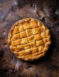 Try Edd Kimber's indulgent whisky and rye salted caramel apple pie. This apple pie recipe is a great twist on the classic. Whisky is added to the thick and crunchy pastry, and caramel added to the apple filling for a more decadent and grown up taste. Plus Edd's step-by-step guide to the perfect lattice crust