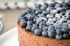 Blaubeeren Schmok mousse torte
