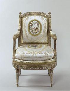 Le mobilier de Versailles. Fauteuil