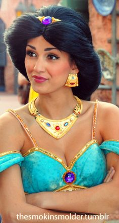 i have never seen a princess jasmine that i thought was truly beautiful. she is.