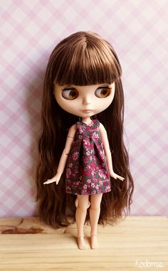 DIY dress Blythe