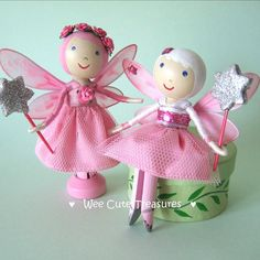 Pink Fairy Friends