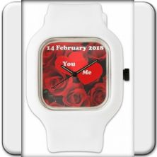 Wristwatch: U201c14 February 2018u201d. Valentineu0027s: Your Meaningful Gift For Your  Love