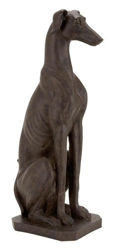 Greyhound+Dog+Statue