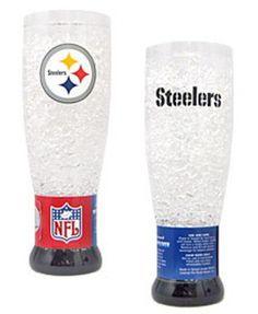 Pittsburgh Steelers Plastic Crystal Pilsners  Set of 2 -- For more information, visit image link.