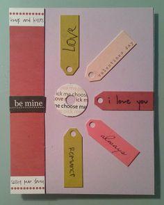 Day 43 - Valentine Love Greeting Card