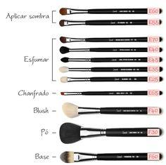 Makeup Brush Uses, Makeup 101, Beauty Makeup, Eye Makeup, Make Up Inspiration, Smokey Eye For Brown Eyes, Makeup Step By Step, Contour Makeup, Makeup Routine