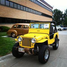 New lift, terraflex shackles, 350 rebuilt transmission and Cj Jeep, Jeep Wrangler Rubicon, Jeep Willys, Model Cars Kits, Kit Cars, Vintage Jeep, Vintage Cars, Best Gas Mileage, Army Surplus