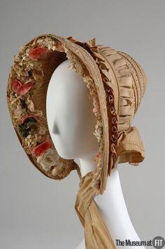 Bonnet  1845  The Museum at FIT