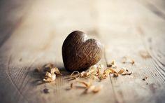 Wooden heart wallpaper