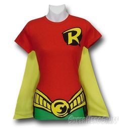 Robin Costume T-Shirt. it's a good idea whether you wanna be Robin or anybody else :)