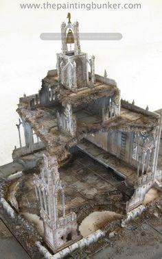 Forge World Realm of Battle Cityscape 6 x 4 board