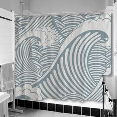 WIn a uneekee Bath Makeover - Shower Curtain, Bath Mat & 2 Bath Towels at The Funky Monkey! Giveaway ends 8/28/13