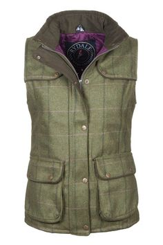 Rydale Clothing | Ladies Tweed Gilet