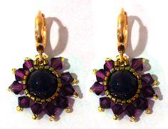 #amatista #earings #kesem #byDianaBalen Gemstone Rings, Drop Earrings, Gemstones, Jewelry, Amethyst, Crystals, Jewels, Jewlery, Bijoux