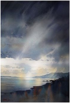 Thomas Schaller, Where the Mountains Sweep Down to the Sea - Mountains of Mourne