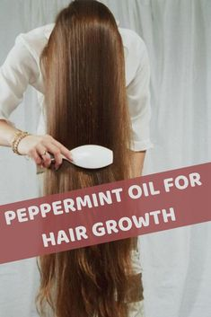 Essential oils for hair growth abound but Peppermint oil is a lot different f. Grow Natural Hair Faster, How To Grow Your Hair Faster, Peppermint Oil Hair Growth, Hair Essentials, Essential Oils For Hair, Stop Hair Loss, Hair Growth Oil, Damaged Hair, Hair Oil