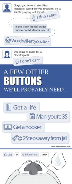 """Why we need the """"I don't care button"""" on Facebook - The Maple Kind"""