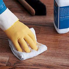 Hard wood floor care