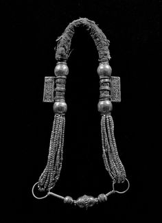 Omani silver necklace