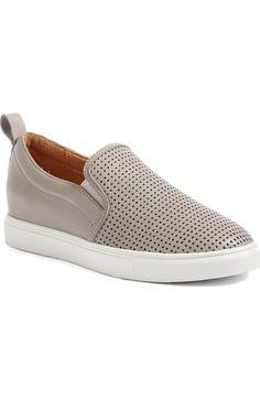 Main Image - Caslon® Eden Perforated Slip-On Sneaker (Women)