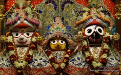 To view Jagannath Baldeva Subhadra  Wallpaper of ISKCON Calcutta in difference sizes visit - http://harekrishnawallpapers.com/jagannath-baladeva-subhadra-iskcon-calcutta-wallpaper-002/
