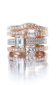 Punakultaa, platinaa ja timantteja