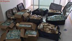Hallan maletas llenas de dinero en un apartamento usado por un exministro de Temer