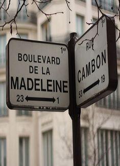 Life, Paris - Rue Cambon x Blvd Madeleine Oh Paris, I Love Paris, Paris City, Tuileries Paris, Jardin Des Tuileries, Tour Eiffel, Monuments, Les Deux Sevres, Wayfinding Signs