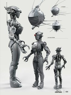 The Art of Fallout 4 - Assaultron Fallout Art, Fallout 4 Concept Art, Fallout Four, Fallout Tattoo, Fallout Props, Star Wars Concept Art, Fallout New Vegas, Robot Concept Art, Game Concept Art