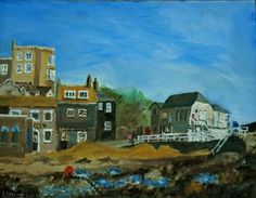 Buy The old Jetty and Lookout, Broadstairs, Kent - An original oil painting! Lovely!, Oil painting by Julian Lovegrove Art on Artfinder. Discover thousands of other original paintings, prints, sculptures and photography from independent artists.