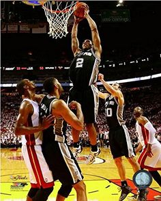 Kawhi Leonard San Antonio Spurs 2014 NBA Finals Game 4 Photo Size 16 x 20 -- Be sure to check out this awesome product.