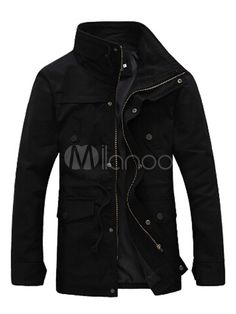 Jacket with Stand Collar - Save Up to 70% Off on fabulous fashion trend products at Milano with Coupon and Promo Codes.