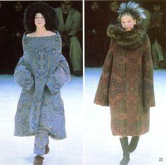 Yohji Yamamoto Fall/Winter 2000