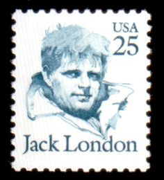 Photo: Happy Birthday Jack London, writer of wonderful stories such as White Fang and Call of the Wild was a Californian - born in San Francisco. he was honored on a stamp in Pop Art, Rare Stamps, Postage Stamp Art, Book Authors, Books, Art Design, My Stamp, Stamp Collecting, Illustrations