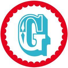 G Signwriting, Monogram Alphabet, My Precious, Banner, Art Projects, Initials, Carnival, Logos, Birthday