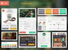 30 Really Useful Yet Free UI Design Kits | SmashingApps.com