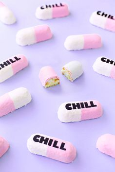 Could you like chill for a sec? Turn store-bought twinkies into chill pill twinkies with this fun semi-homemade dessert hack!