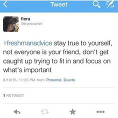 The best advice. I should listened