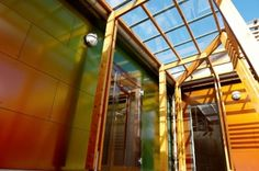 Fachadas impactantes con los nuevos colores ROCKPANEL® Chameleon.  http://www.comunicae.es/nota/fachadas-impactantes-con-los-nuevos-colores-rockpanel-chameleon-1112209/